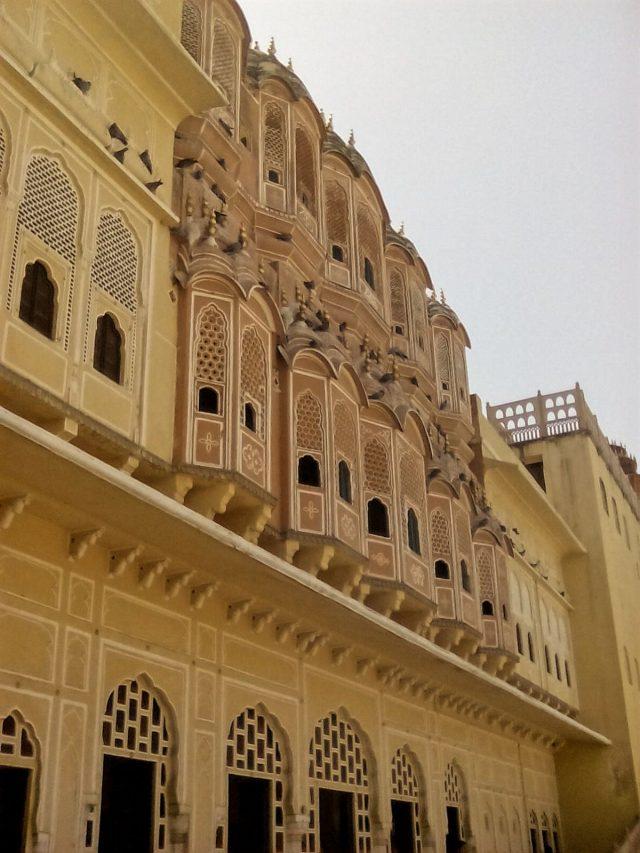 jaipur inde du nord visite palais des vents