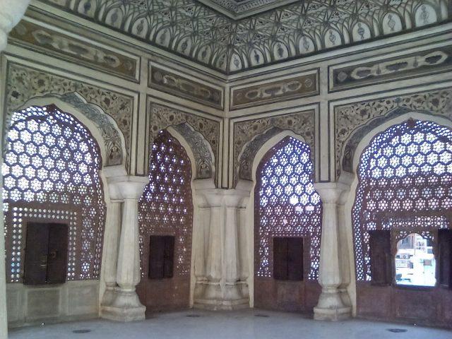 jaipur palais des vents decoration inde