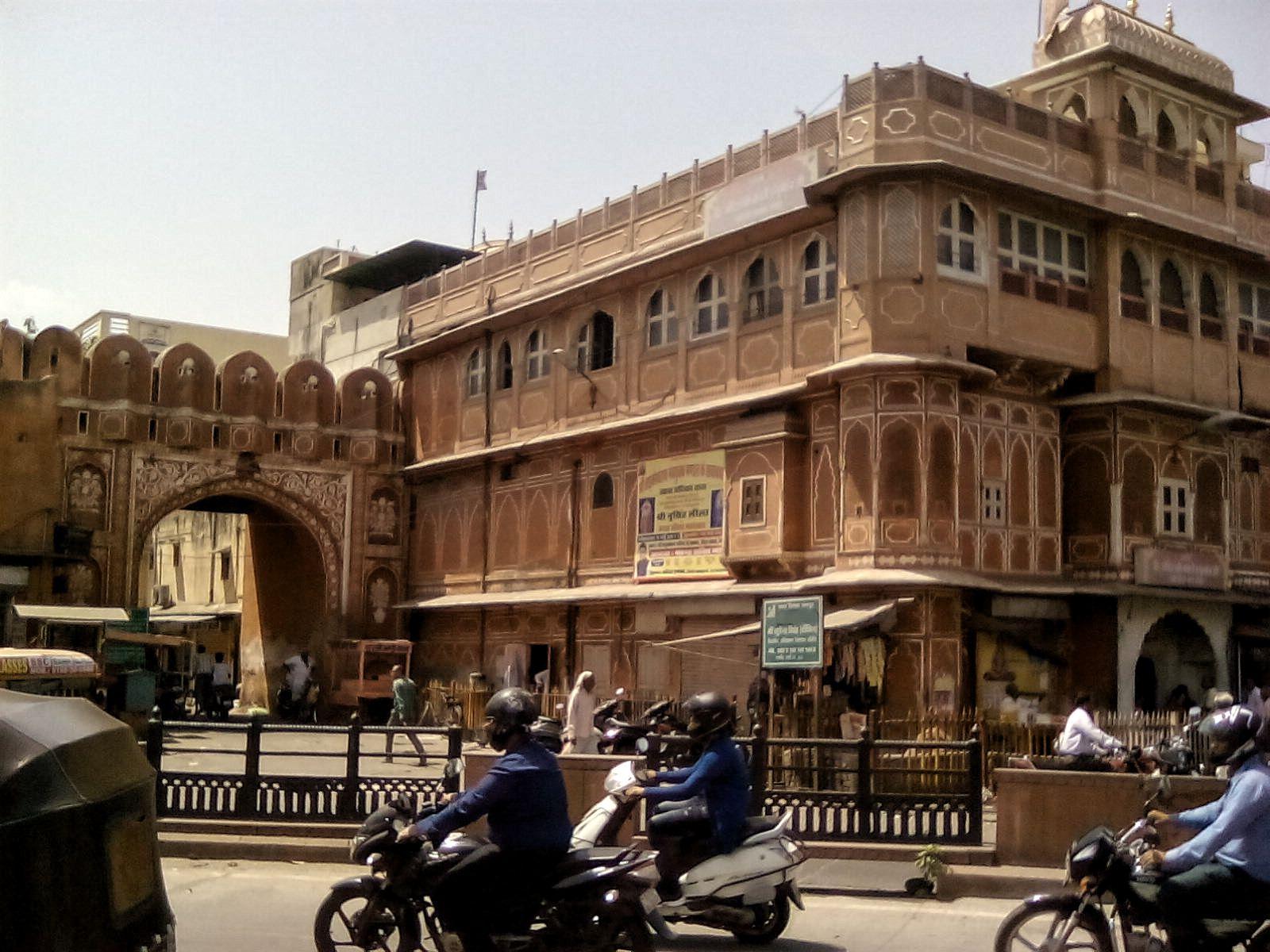 jaipur ville rose architecture