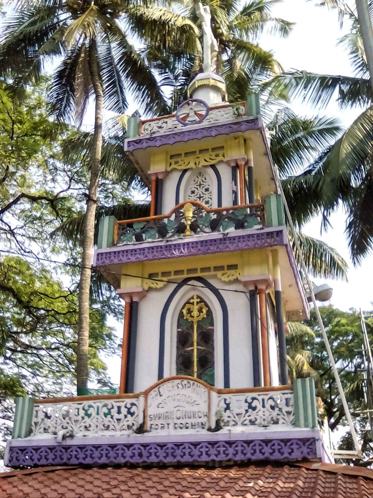 kerala eglise monument orthodoxe fort cochin decouverte voyage