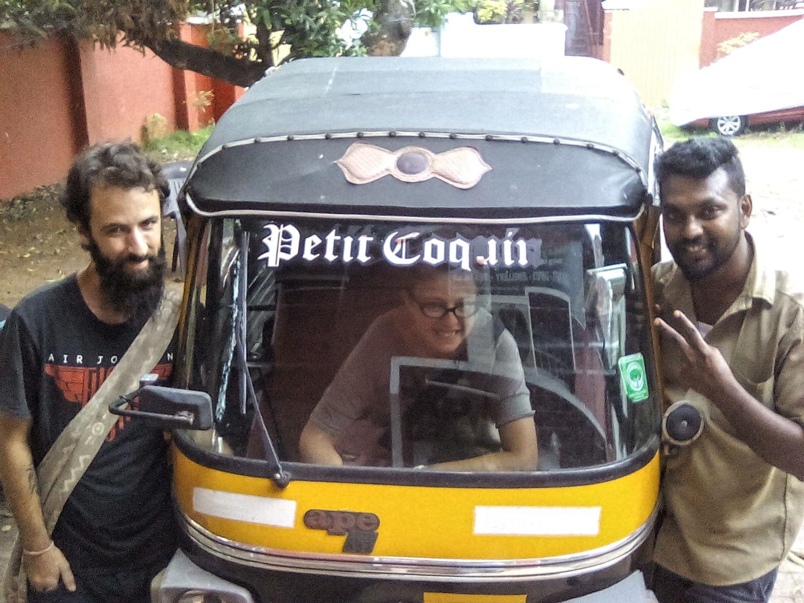 kerala fort cochin rickshaw sympa