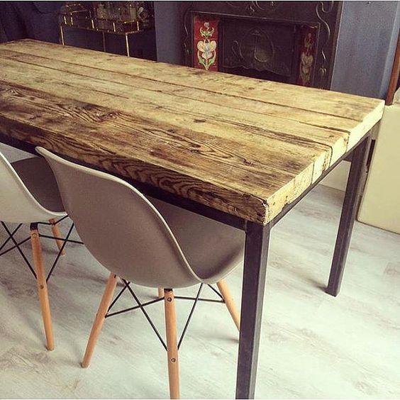 contraste bois et m tal cocon de d coration le blog. Black Bedroom Furniture Sets. Home Design Ideas