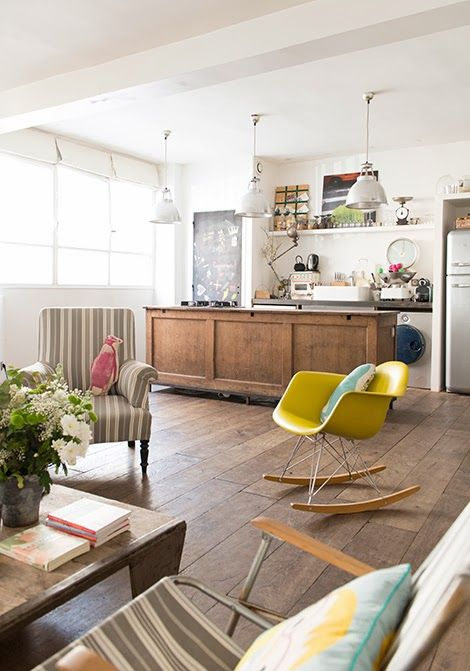decoration cuisine ouverte salon tendance
