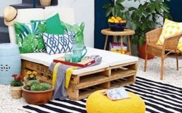 idee jardin recup pas cher mobilier