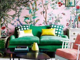 inspiration decoration couleur vert 2017