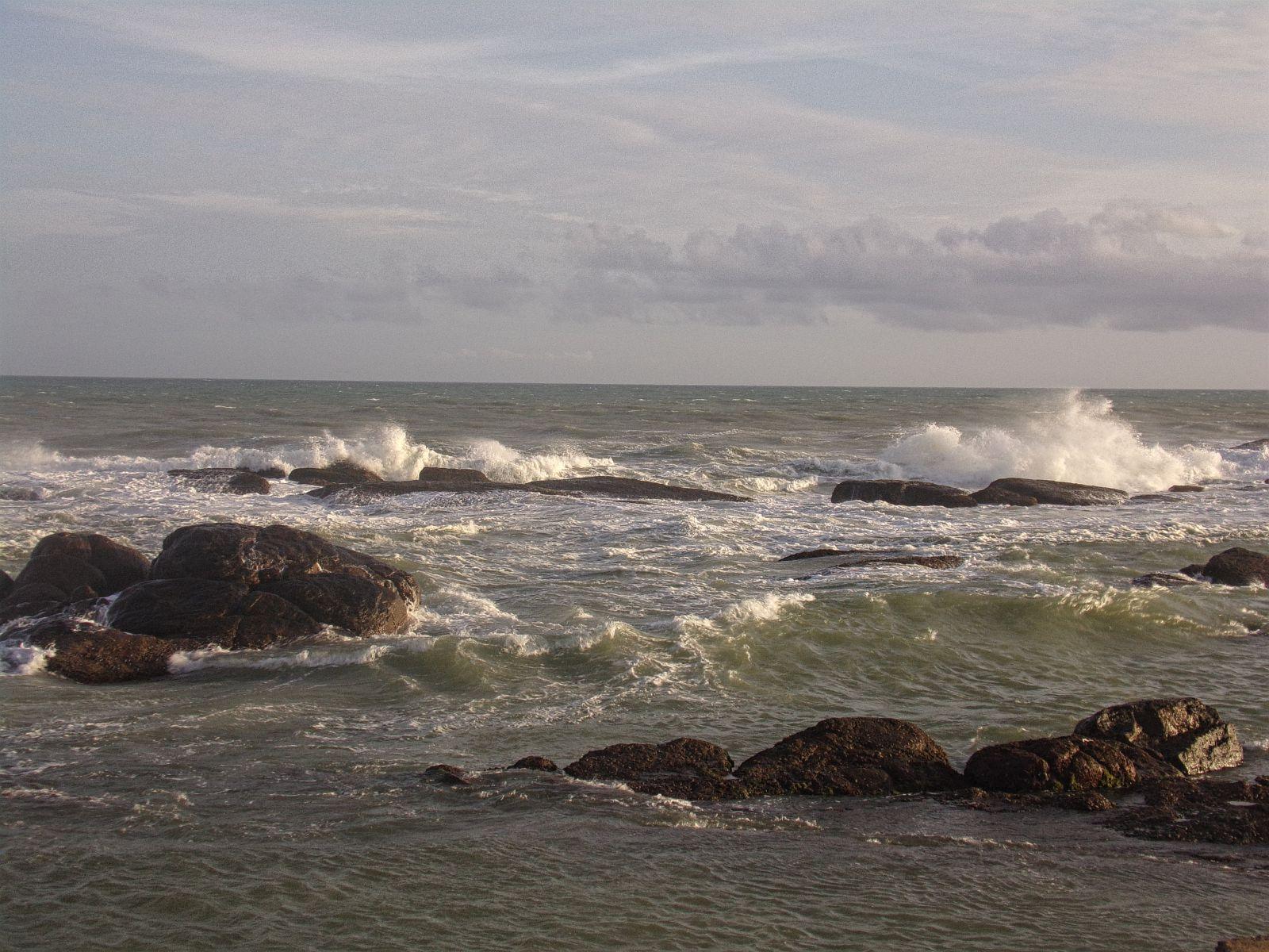 kanyakumari mer ocean indien inde