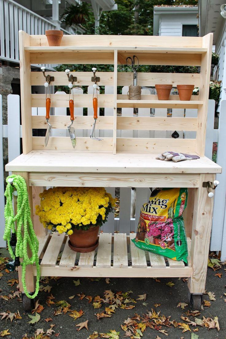 mobilier de jardin pallette deco pratique pas cher