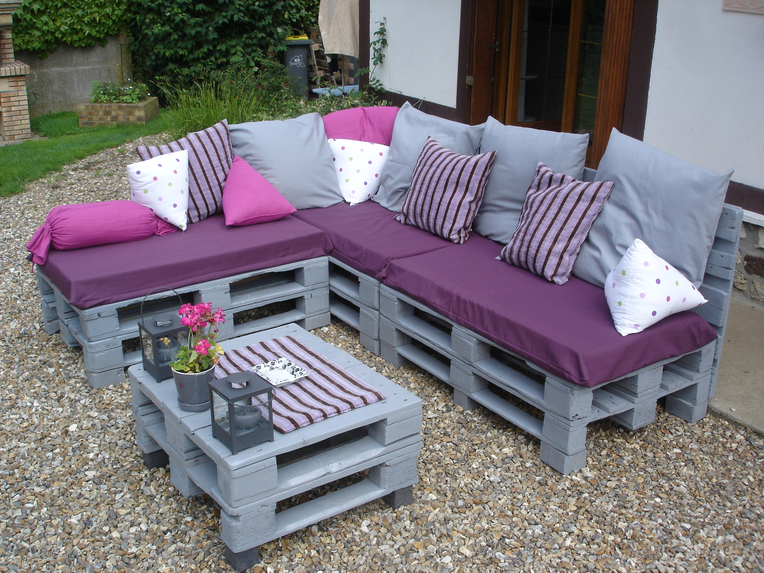 Comment Fabriquer Salon De Jardin En Palette - Fashion Designs