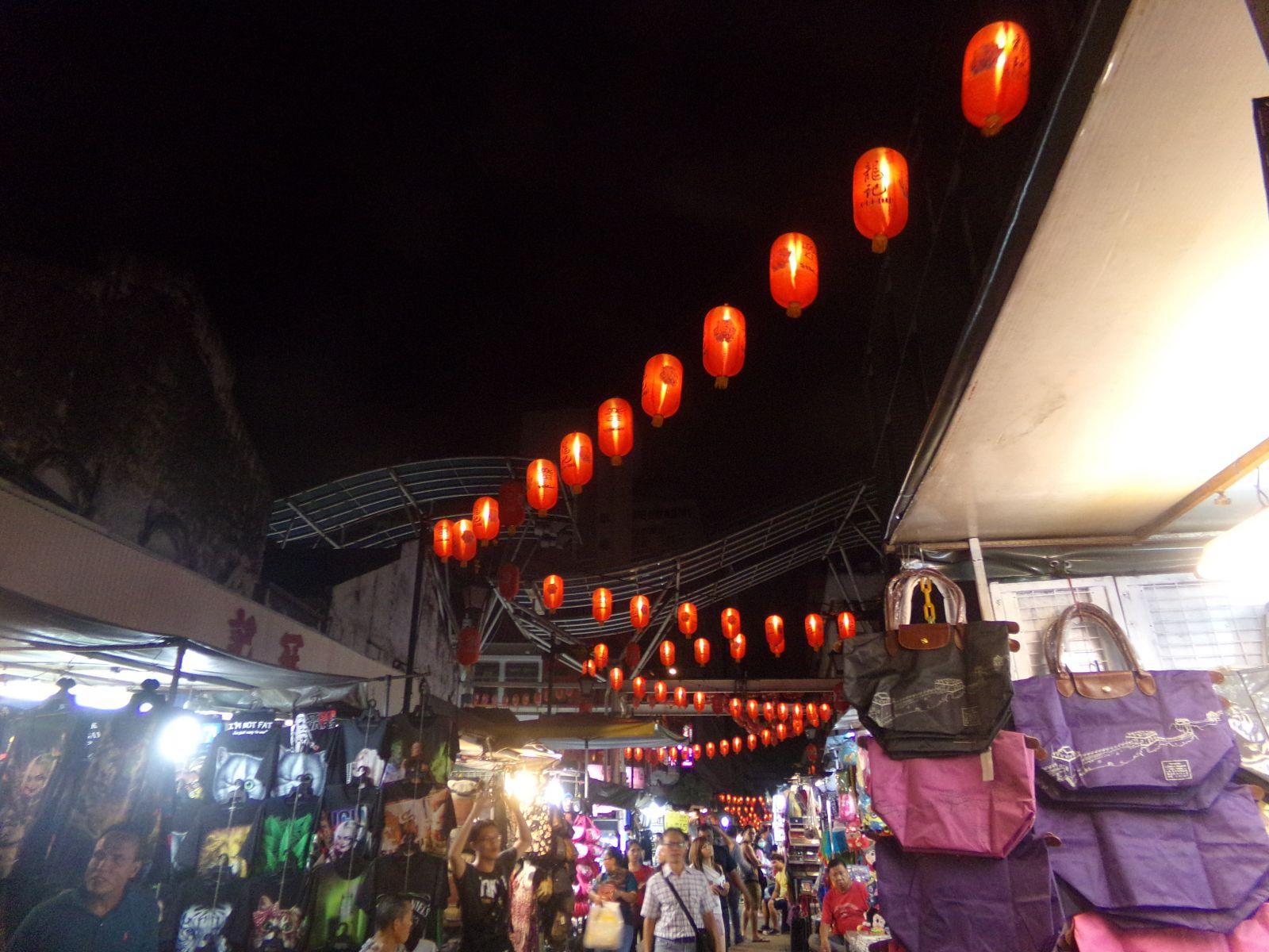 chinatown kuala lumpur malaisie nuit march&