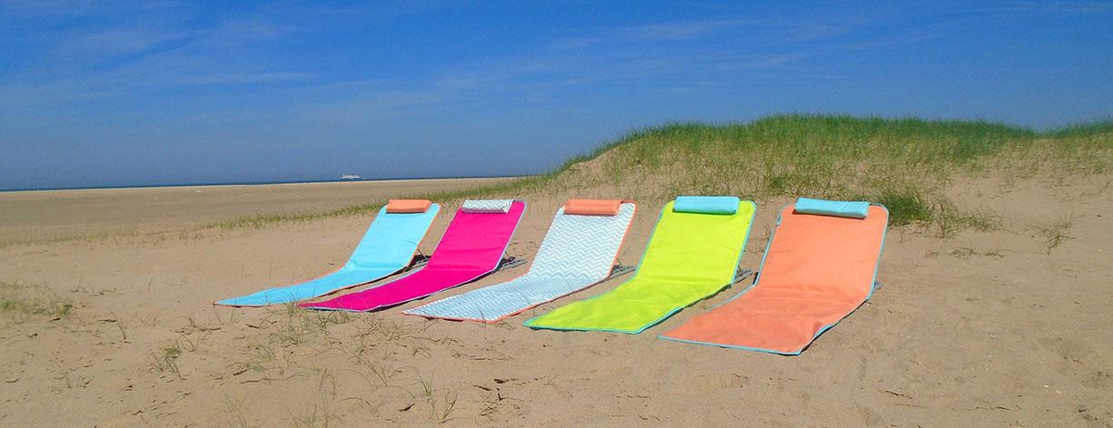 clic clac de plage couleur tendance