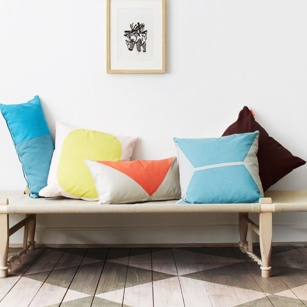 deco textile blanc couleur