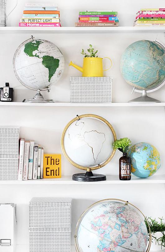 decoration blanc accessoire couleur