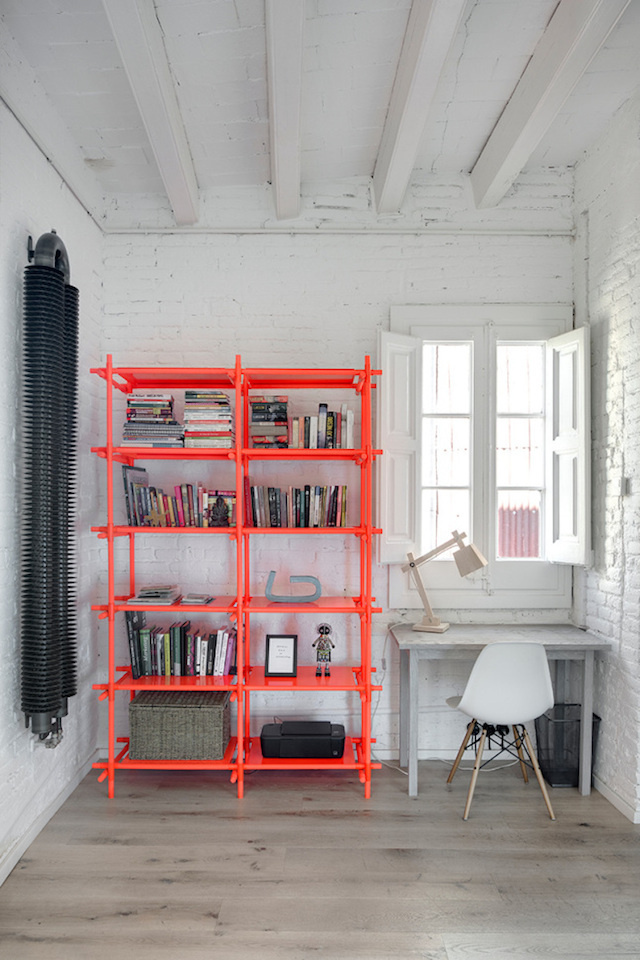 decoration diy meuble etagere coloree