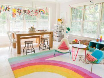 decoration inspiration enfant salle de jeu