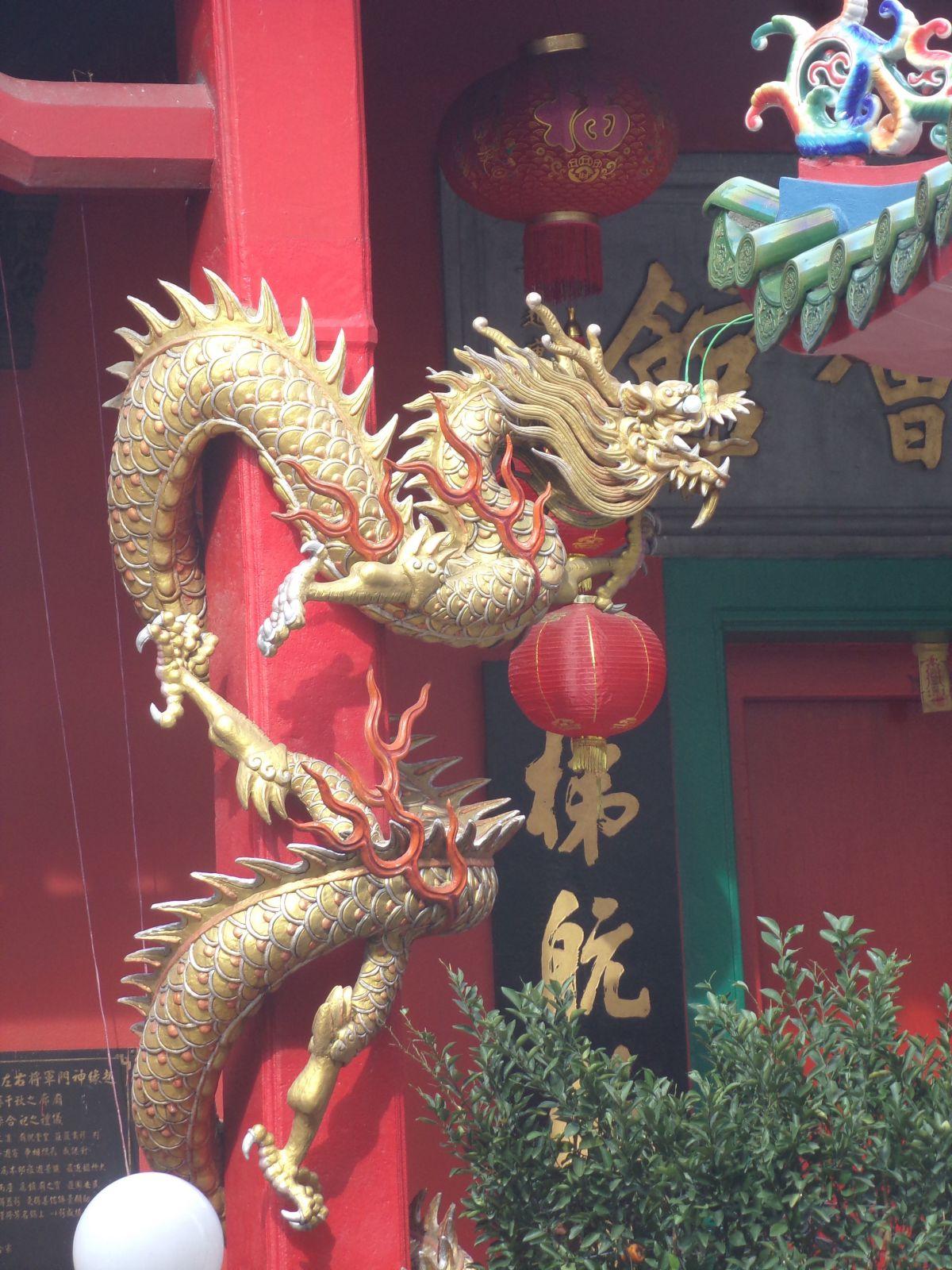 detail temple chinois kuala lumpur chinatown malaisie voayge