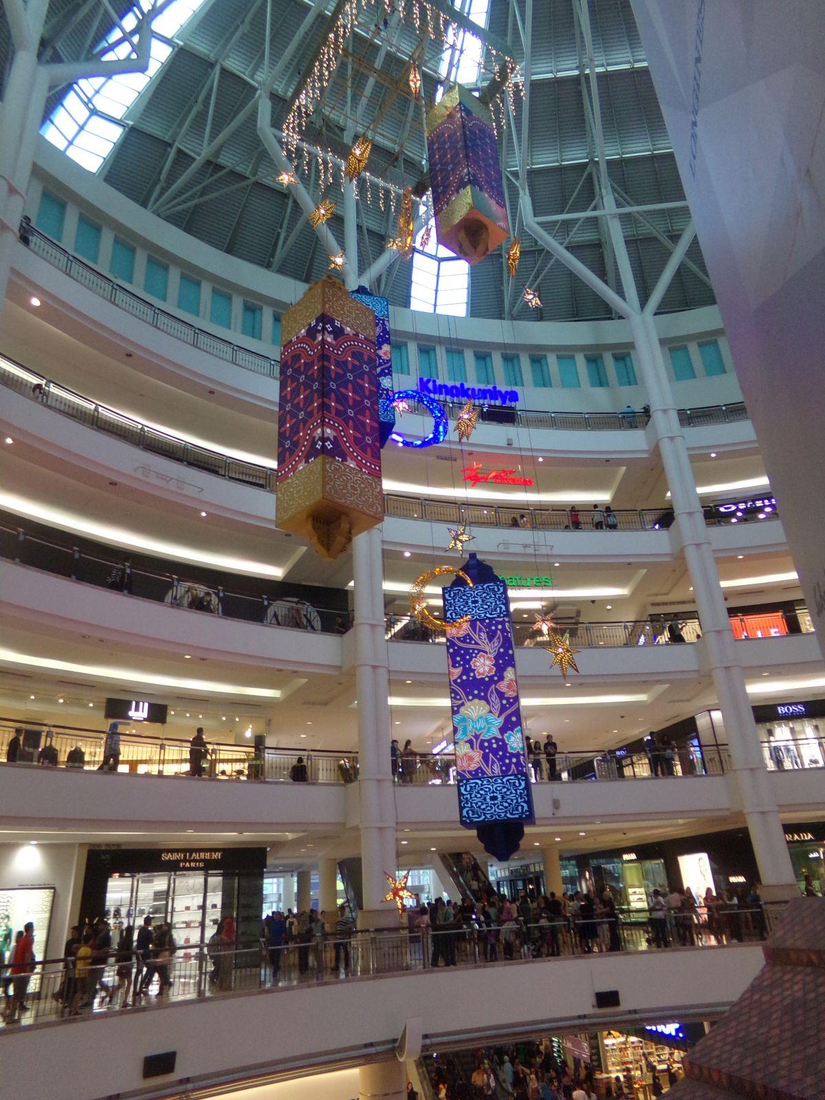 kuala lumpur centre commercial petronas malaisie