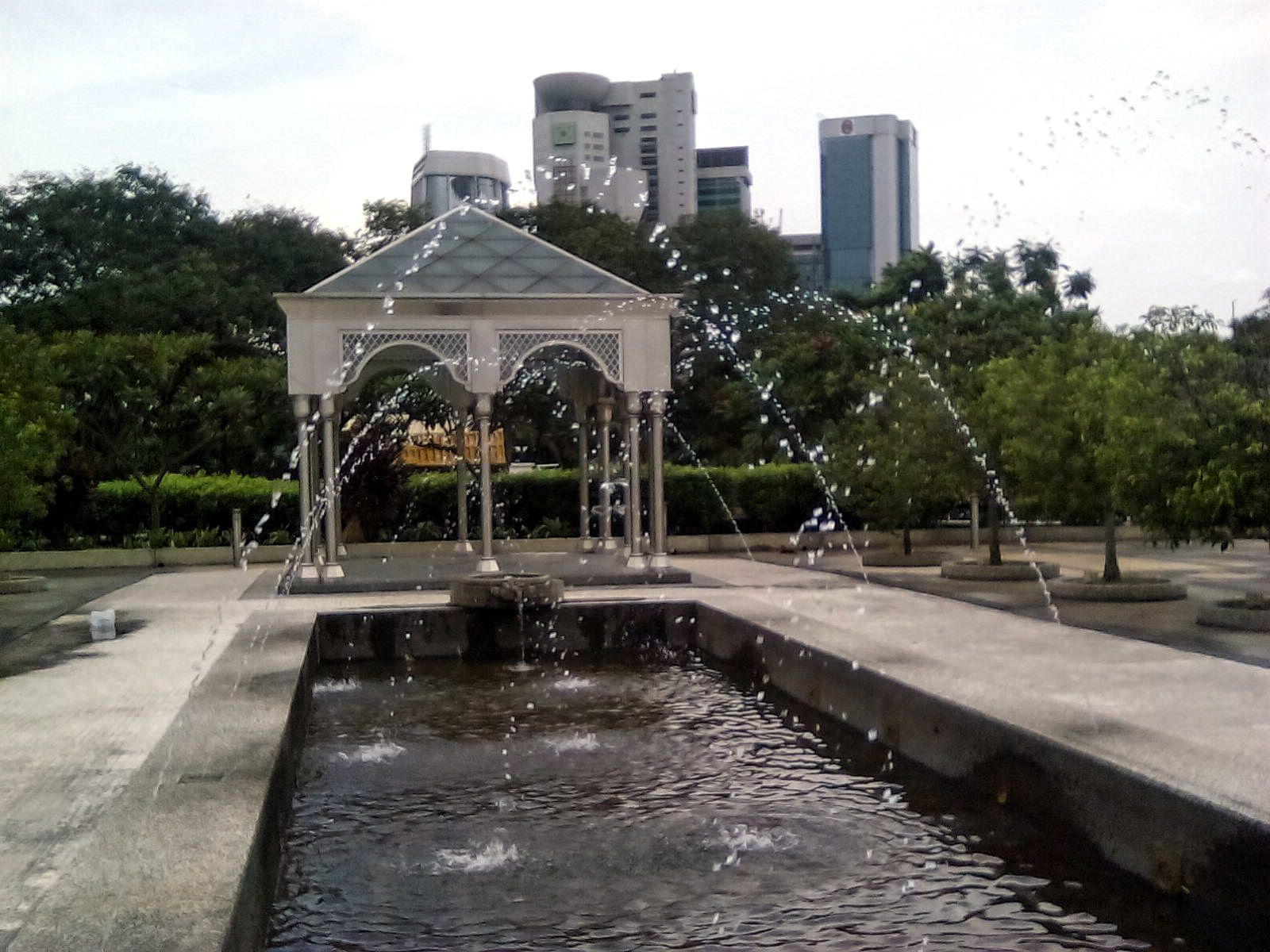 kuala lumpur malaisie mosquee nationale jardin