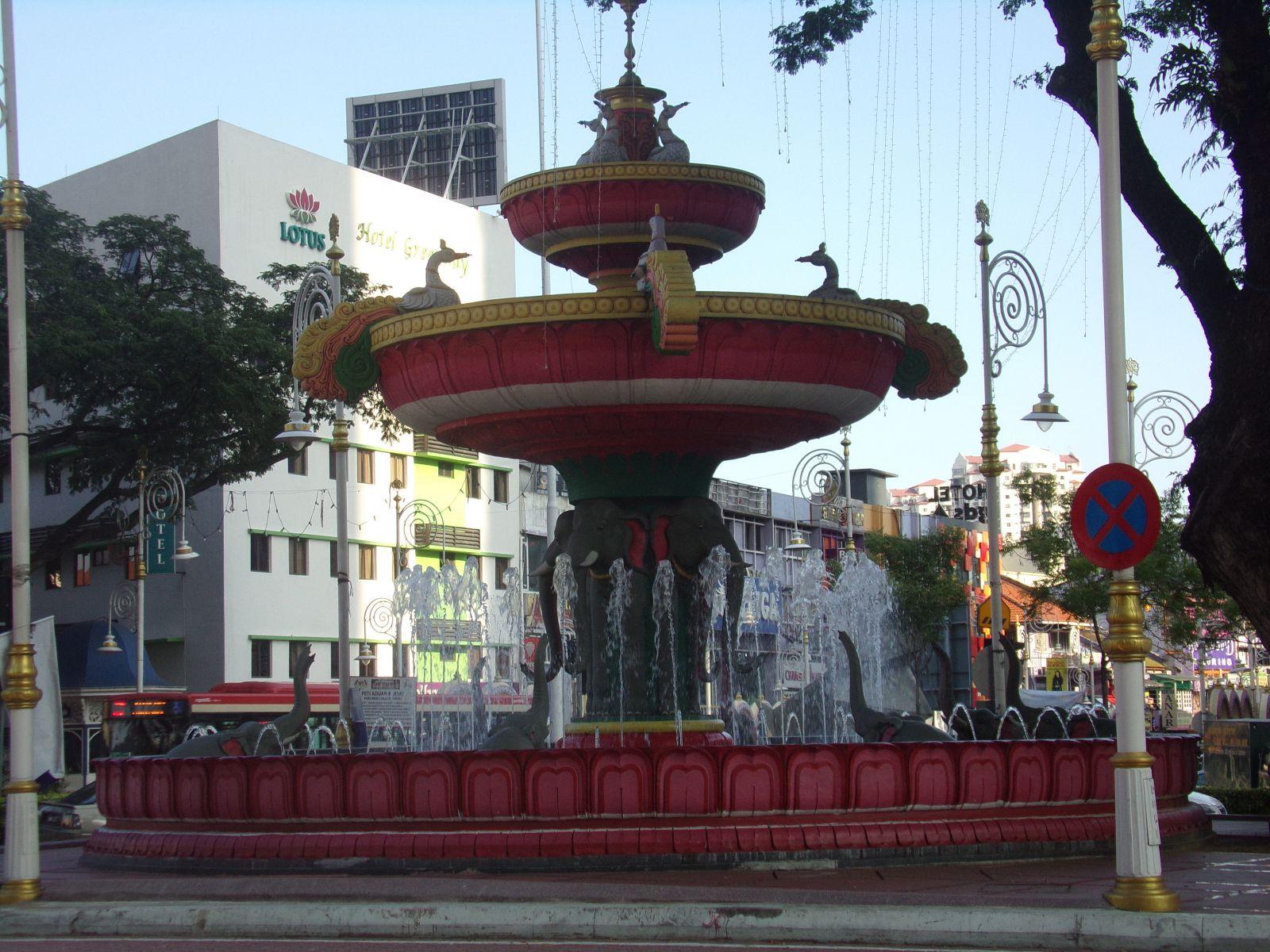 malaisie kuala lumpur inde communaute fontaine little india