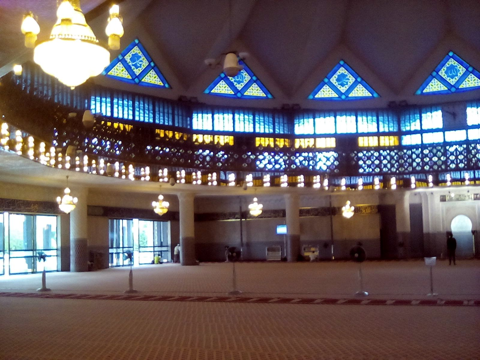 mosquee nationale salle de priere kuala lumpur