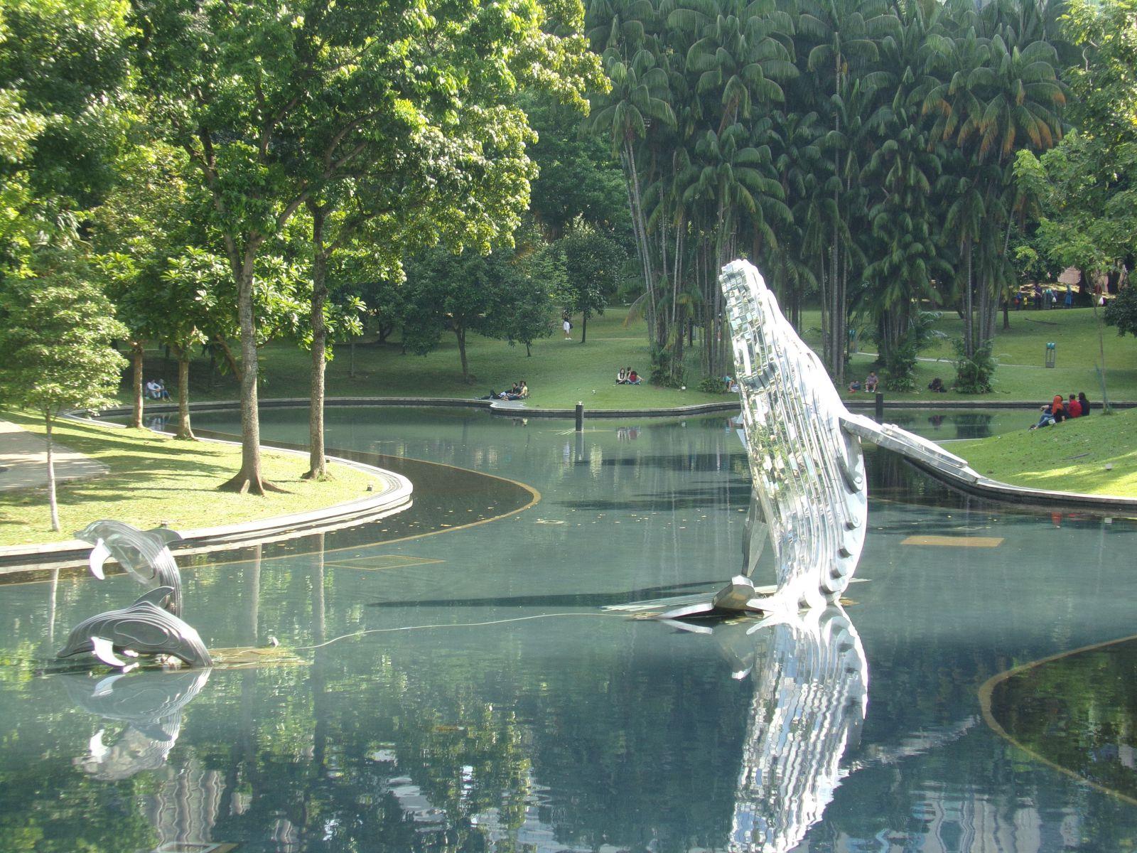 parc kuala lumpur petronas towers malaisie voyage