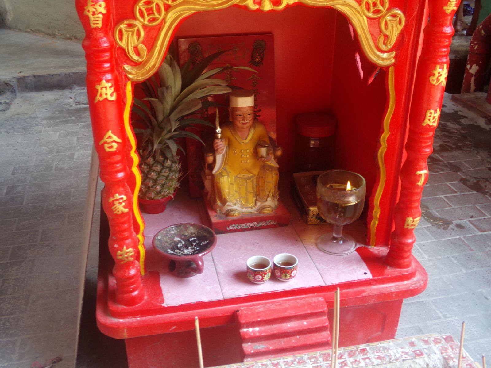 petit temple chinois malaisie