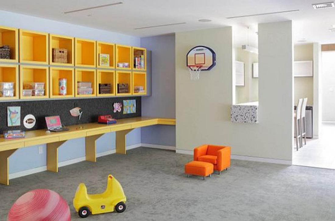 salle de jeu deco rangement enfant