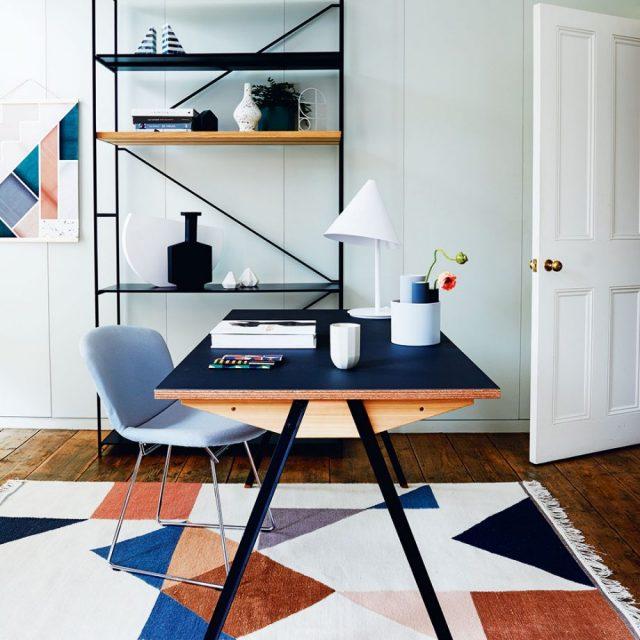 bureau minimaliste contemporain sobre