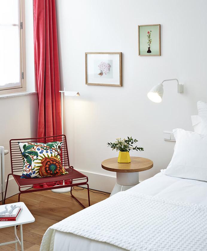 decoration chambre blanc et couleur