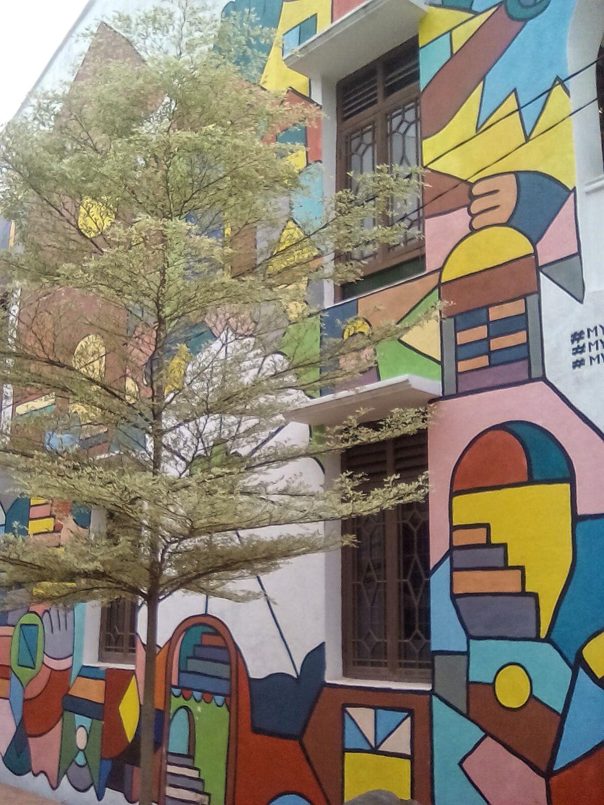 maison street art melaka malaisie vie nomade voyage