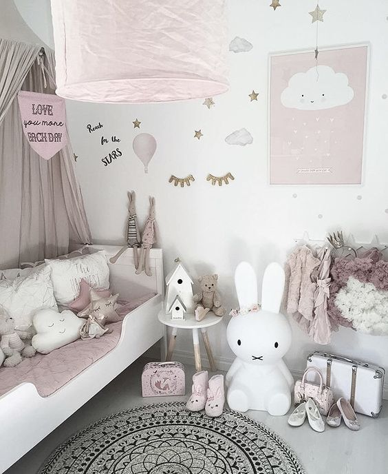 petit lit enfant fillette