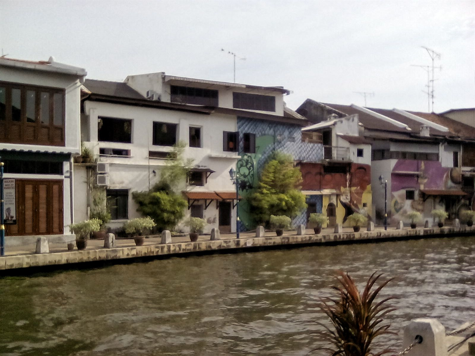 rive melaka malaisie tourisme voyage vie nomade