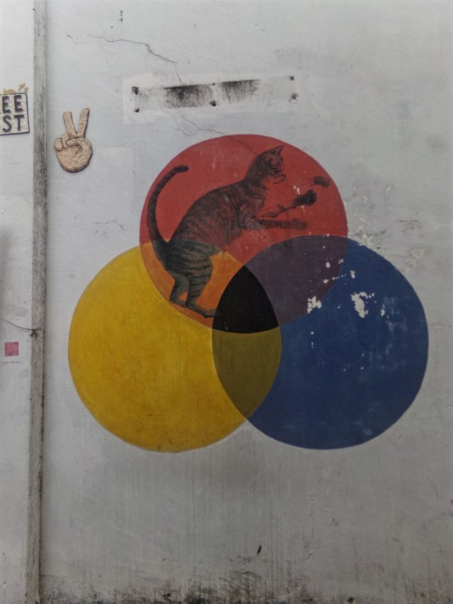 chat street art penang contemporain