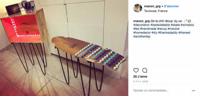 deco instagram mobilier table basse