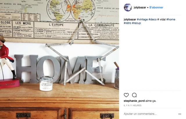 deco recup instagram objet vintage