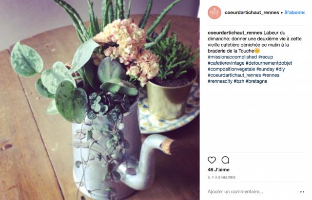 deco recup vintage vase instagram