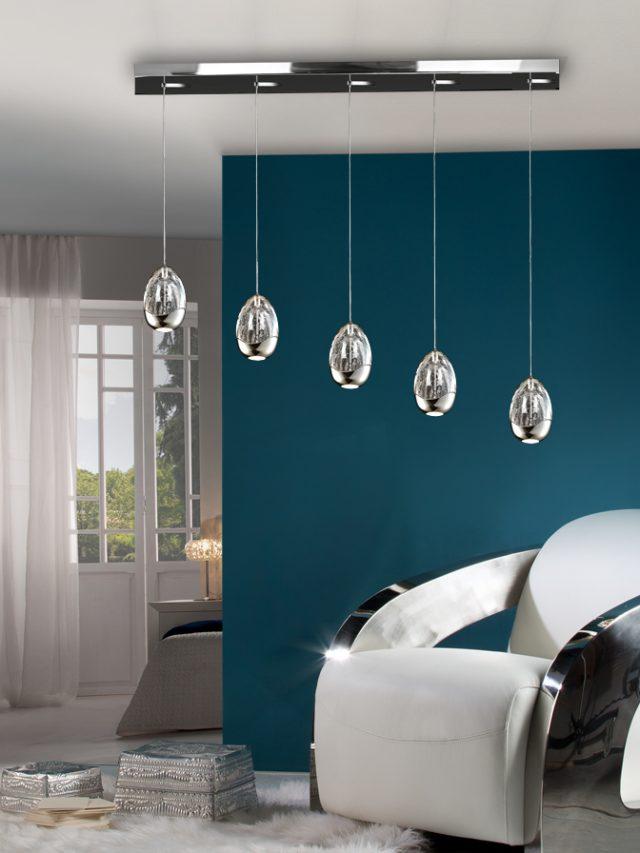 decoration maison suspension salon