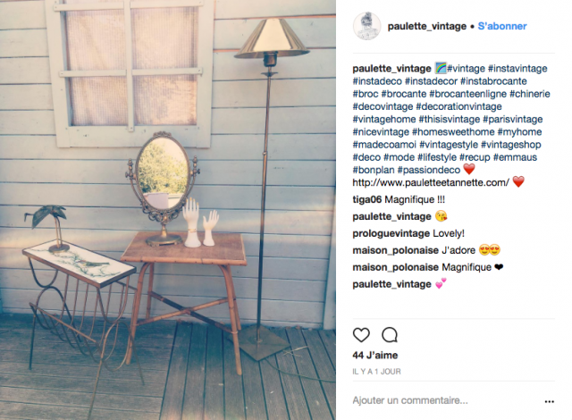decoration recup instagram meuble vintage