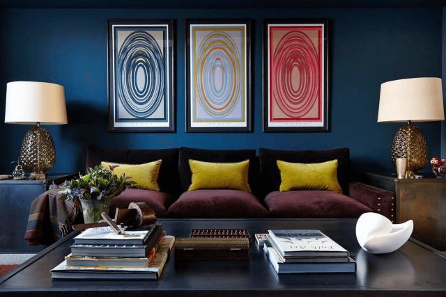 decoration salon ambiance intime rafine