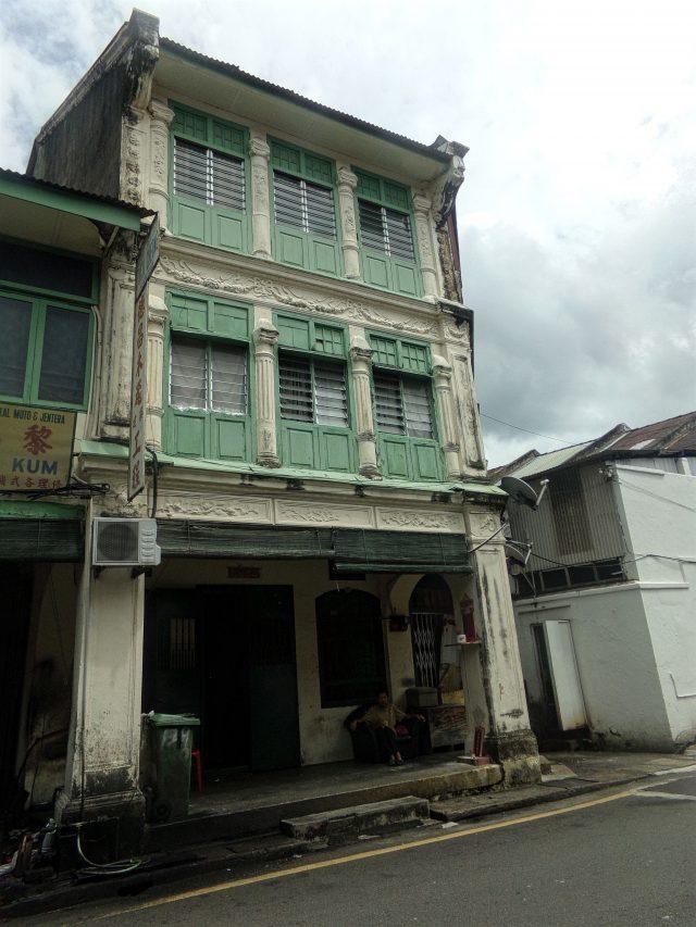 georgetown facade maison shophouse