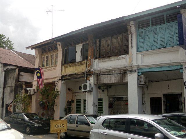 georgetown rue typique malaisie unesco