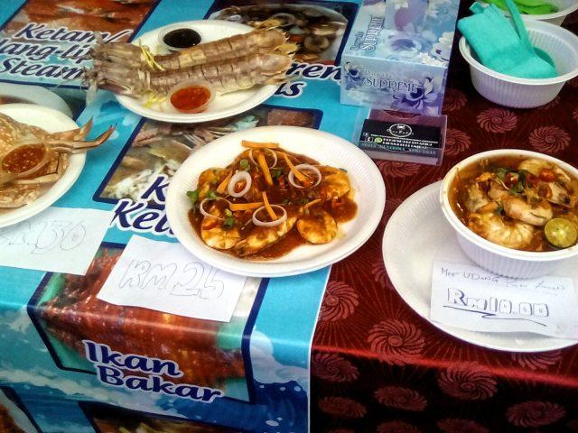 malaisie street food nourriture poisson