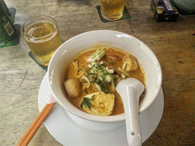nyonya laksa malaisie nourriture specialite