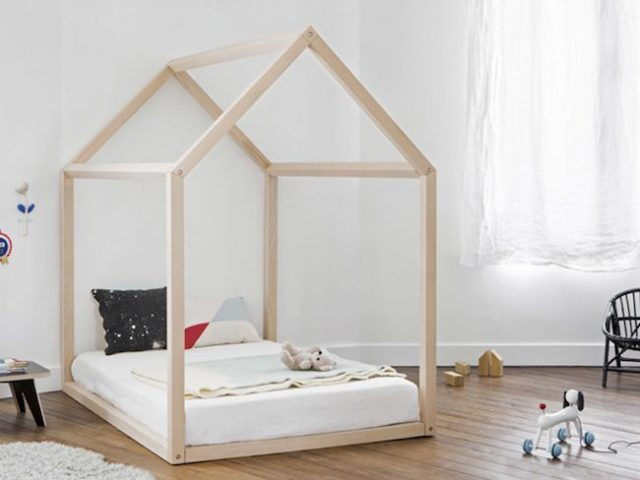 shopping d co le lit cabane pour enfant cocon d co vie nomade. Black Bedroom Furniture Sets. Home Design Ideas