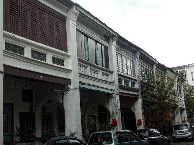 penang goergetown rue decouverte architecture