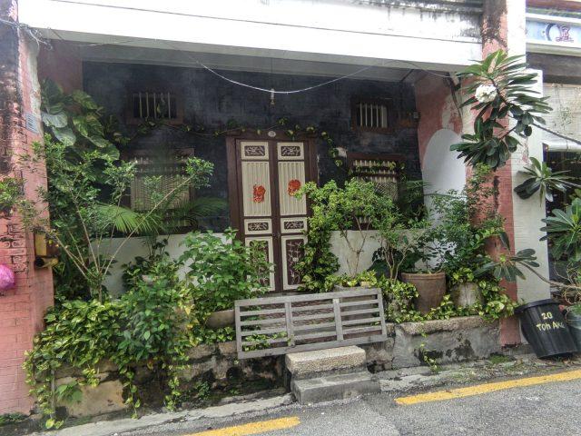penang malaisie facade architecture vegetation