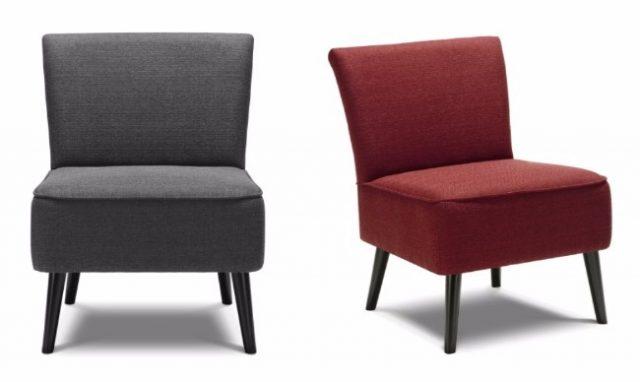 petit fauteuil deco salon bois lin