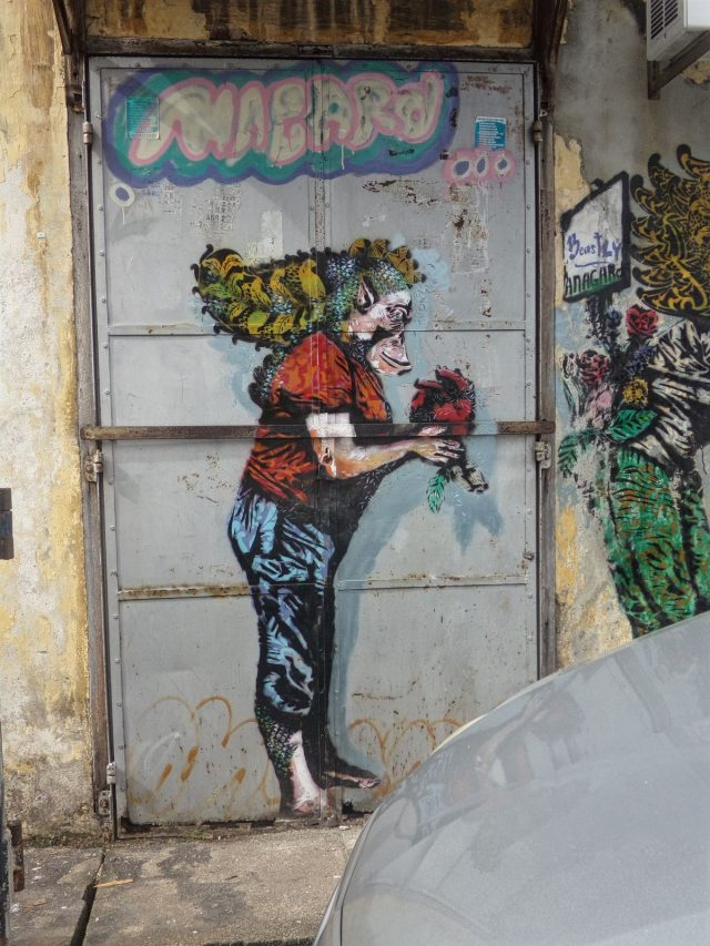 street art georgetown porte malaisie