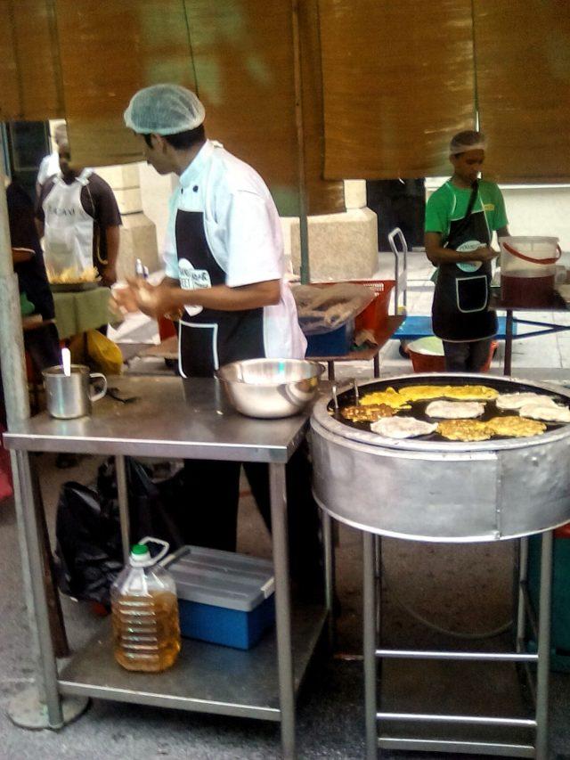 street food malaisie roti galette