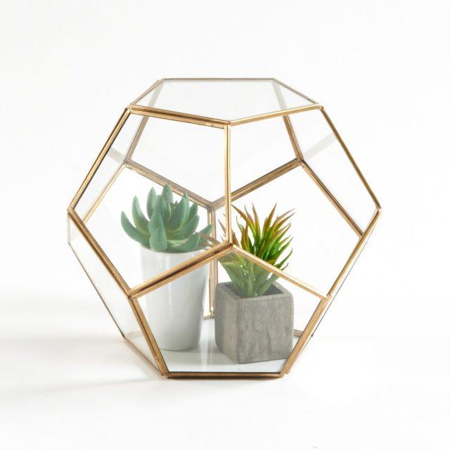terrarium deco feminin succulentes