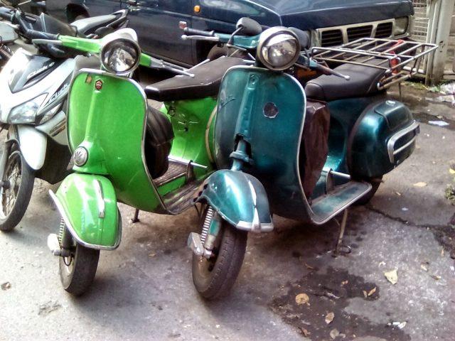 bangkok vieux vespa vintage